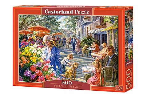 Puzzle Castorland Calle de Ensueño de 500 Piezas