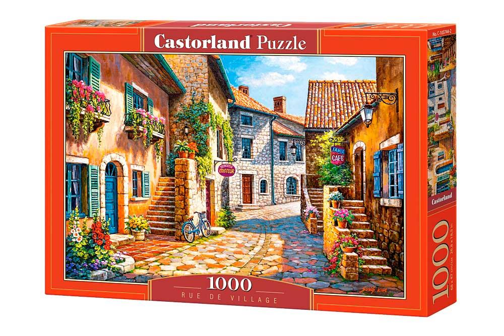 Puzzle Castorland Calle de Pueblo de 1000 Piezas