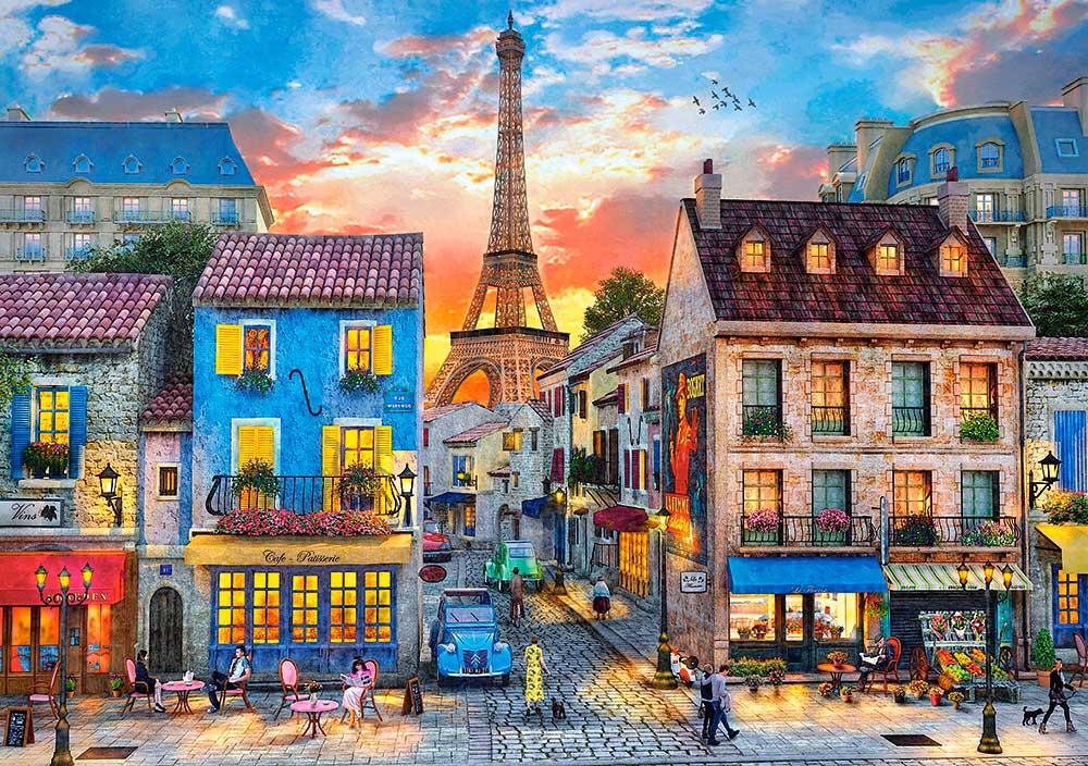 Puzzle Castorland Calles de París 500 Piezas