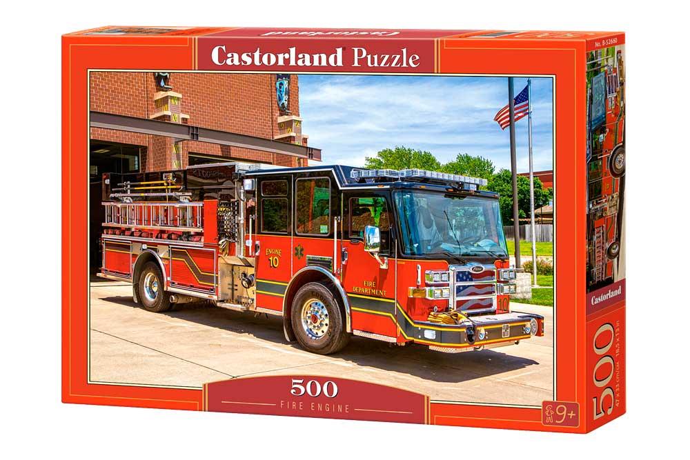 Puzzle Castorland Camión de Bomberos 500 Piezas