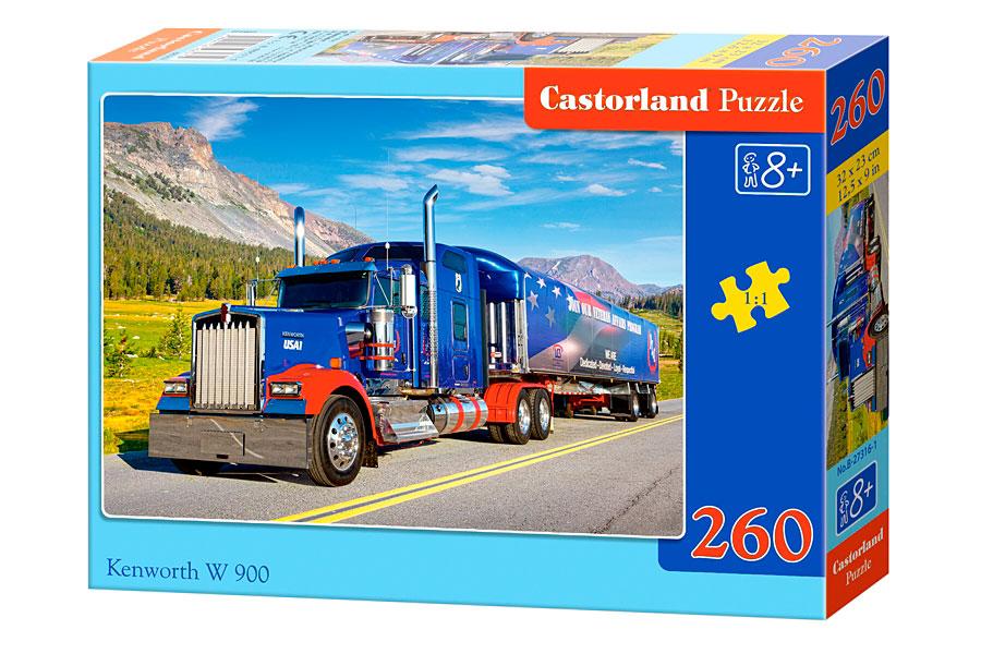 Puzzle Castorland Camión Kenworth W 900  260 Piezas