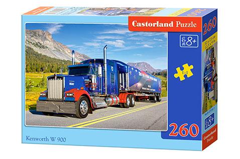 Puzzle Castorland Camión Kenworth W900 de 260 Piezas