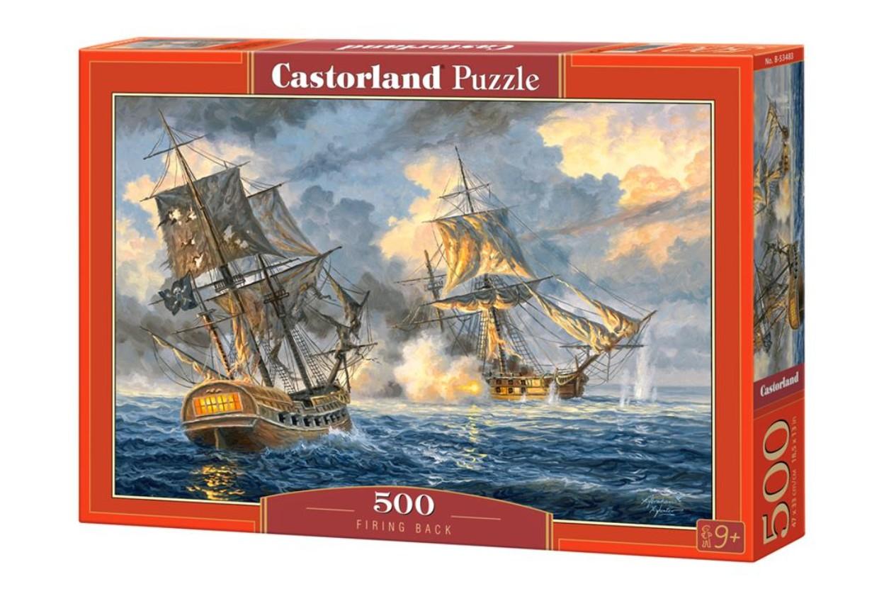 Puzzle Castorland Cañones Traseros de 500 Piezas