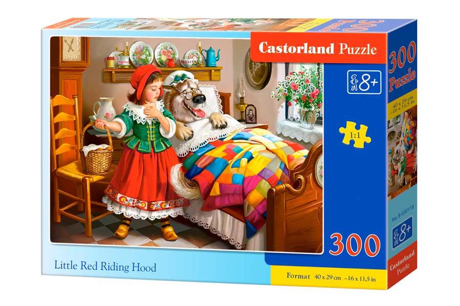 Puzzle Castorland Caperucita Roja de 300 Piezas