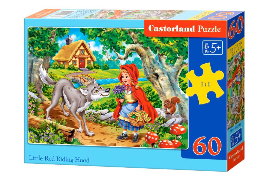 Puzzle Castorland Caperucita Roja de 60 Piezas
