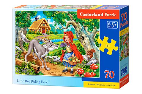 Puzzle Castorland Caperucita Roja de 70 Piezas