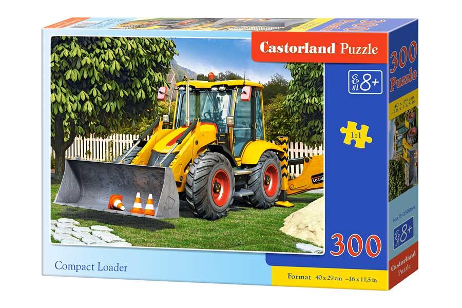 Puzzle Castorland Excavadora Compacta de 300 Piezas