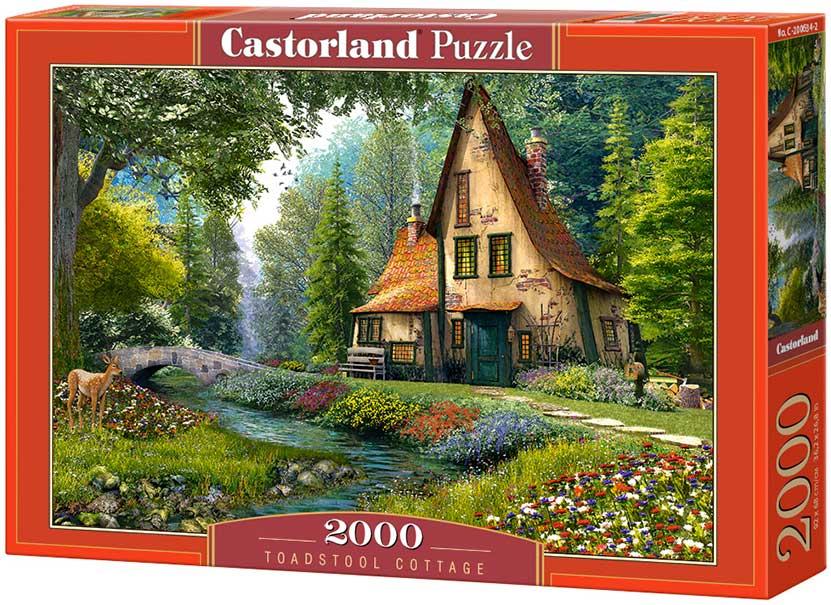 Puzzle Castorland Casa de Campo de 2000 Piezas