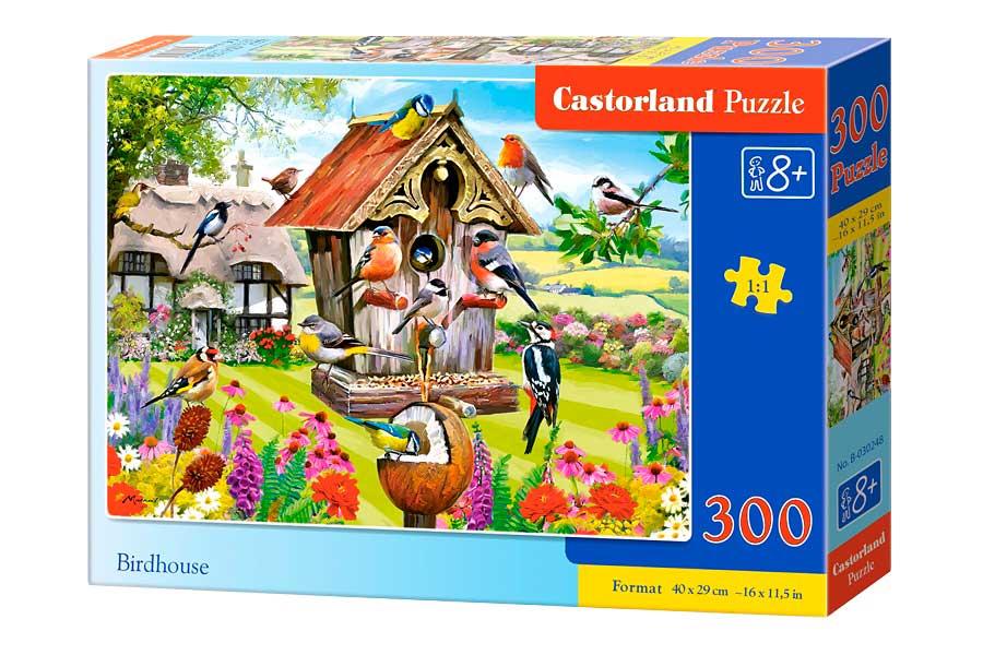 Puzzle Castorland Casa de Pájaros de 300 Piezas