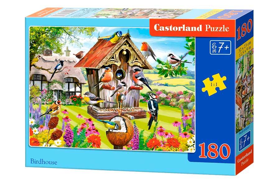 Puzzle Castorland Casa para Pájaros de 180 Piezas