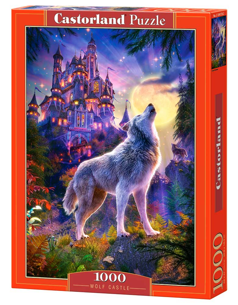 Puzzle Castorland Castillo de los Lobos de 1000 Piezas