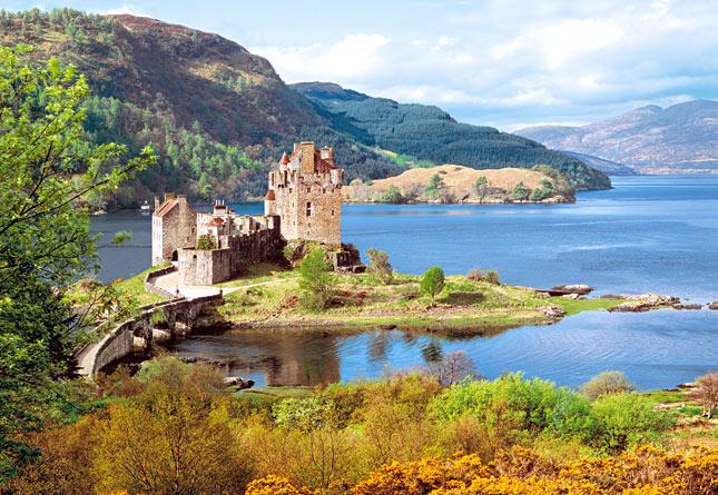 Puzzle Castorland Castillo Eilean Donan, Escocia de 2000 Piezas