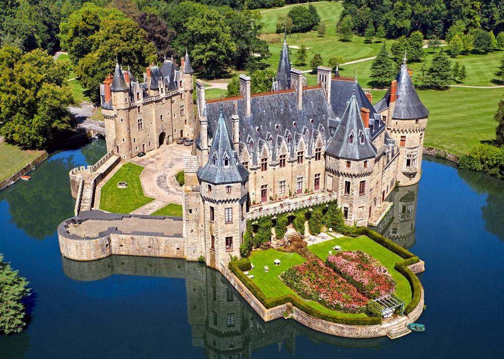 Puzzle Castorland Castillo en el Valle del Loira de 1000 Piezas