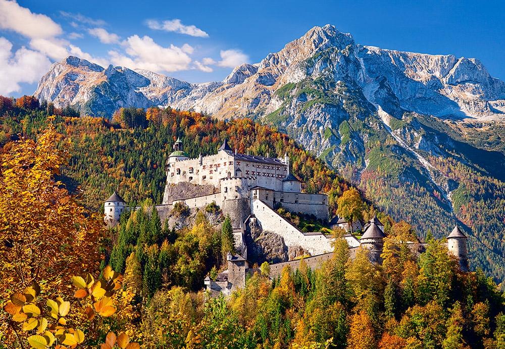 Puzzle Castorland Castillo Hohenwerfen, Austria de 1000 Piezas