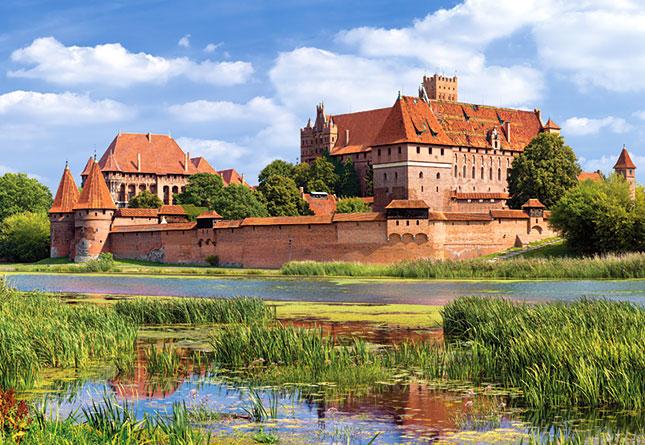 Puzzle Castorland Castillo Malbork, Polonia de 3000 Piezas