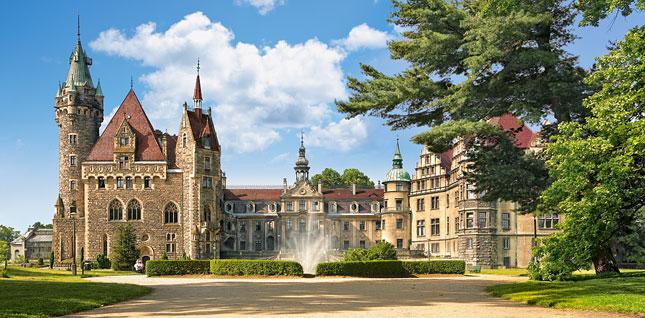 Puzzle Castorland Castillo Moszna, Polonia de 4000 Piezas