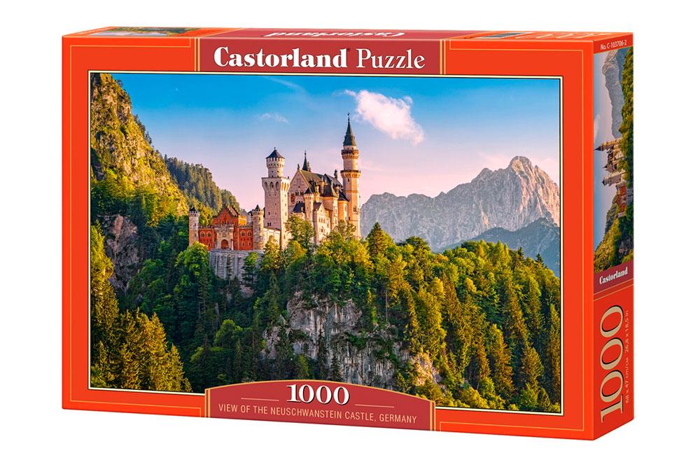 Puzzle Castorland Castillo Neuschwanstein, Alemania, 1000 Piezas