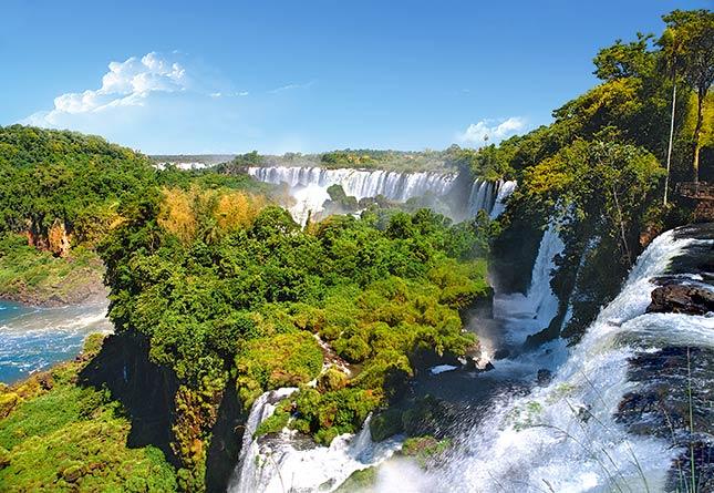 Puzzle Castorland Cataratas del Iguazú, Argentina de 1000 Piezas