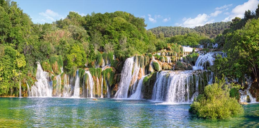 Puzzle Castorland Cataratas Krka, Croacia de 4000 Piezas