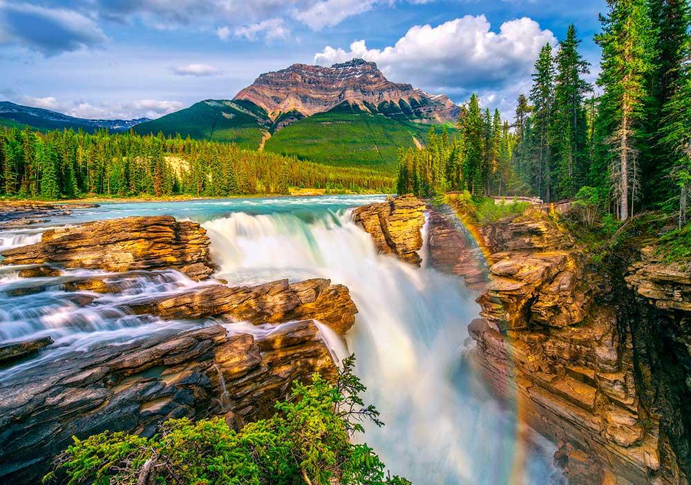 Puzzle Castorland Cataratas Sunwapta, Canada de 500 Piezas