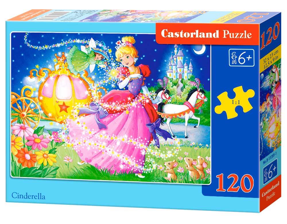Puzzle Castorland Cenicienta de 120 Piezas