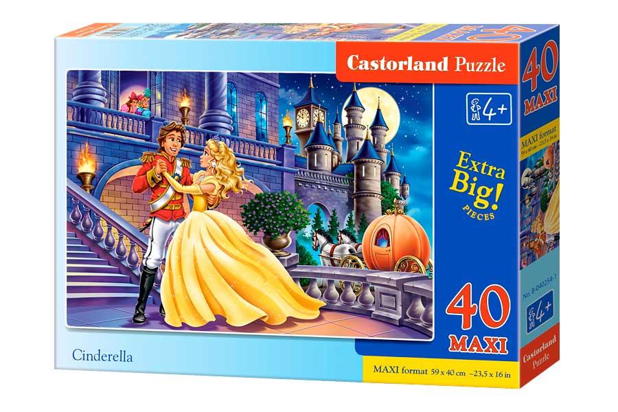 Puzzle Castorland Cenicienta de 40 Piezas