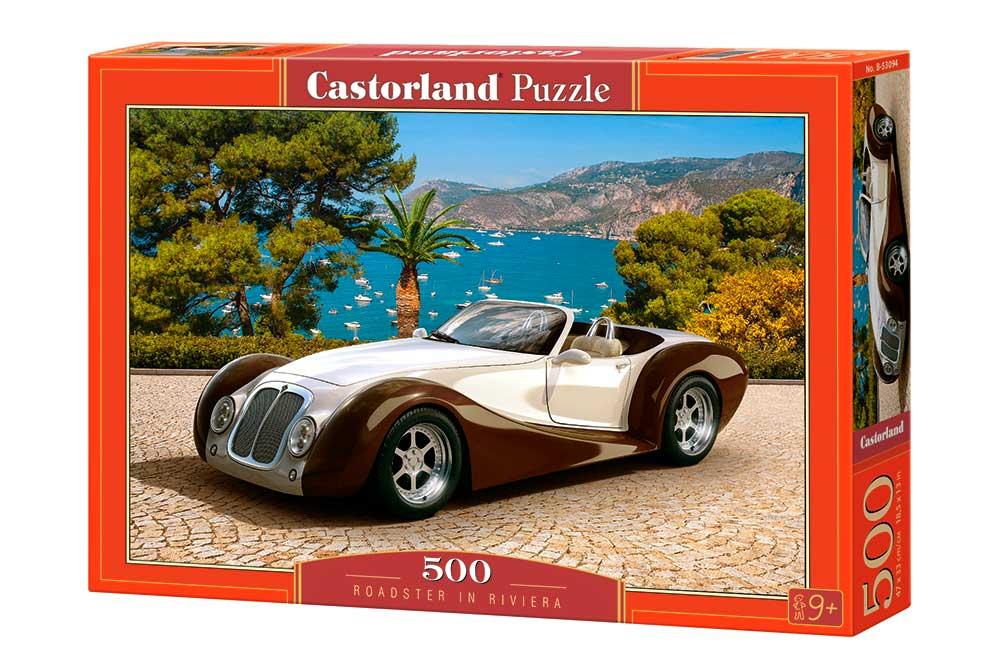 Puzzle Castorland Coche en La Riviera de 500 Piezas