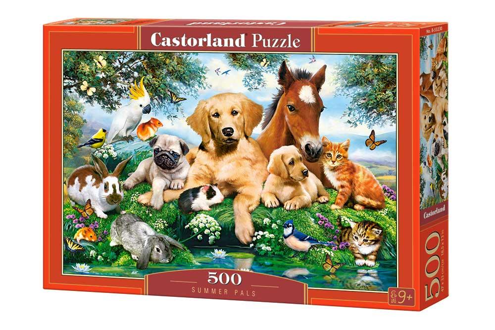 Puzzle Castorland Colegas de Verano de 500 Piezas