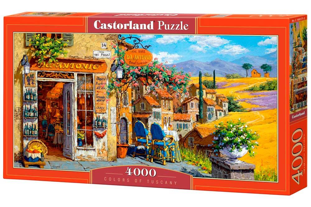 Puzzle Castorland Colores de la Toscana de 4000 Piezas