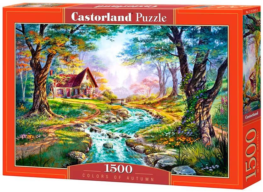 Puzzle Castorland Colores del Otoño de 1500 Piezas