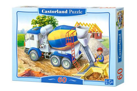 Puzzle Castorland Construcción del Edificio de 60 Piezas