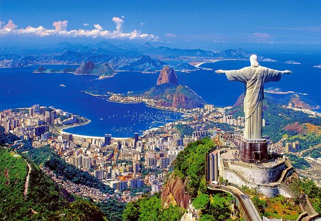 Puzzle Castorland Cristo de Corcovado, Rio de Janeiro de 1000 Pi