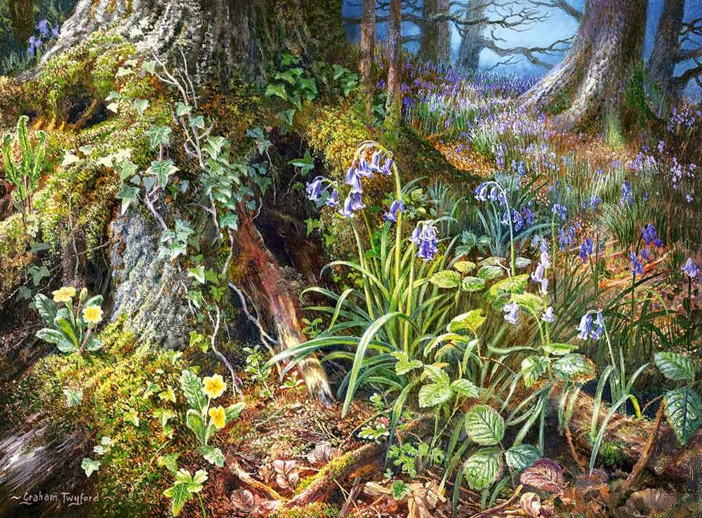 Puzzle Castorland De los Bosques Rusos de 2000 Piezas