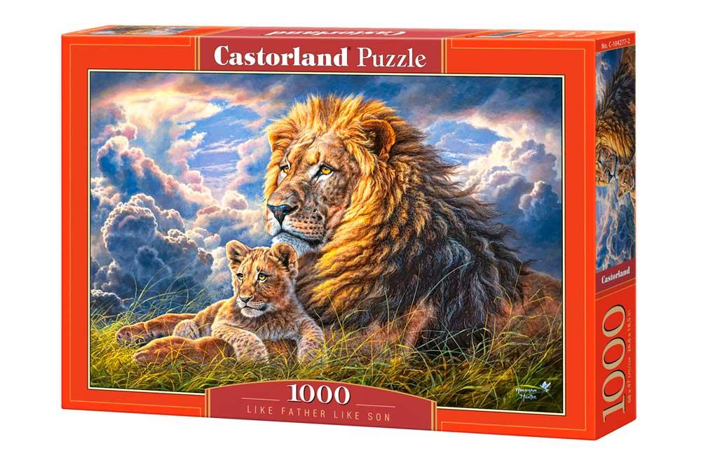 Puzzle Castorland De Tal Palo, Tal Astilla de 1000 Piezas