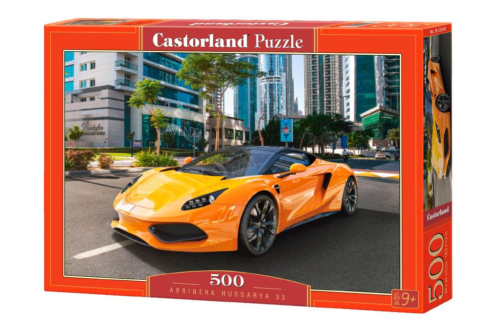Puzzle Castorland Deportivo Arrinera Hussarya 33 de 500 Piezas