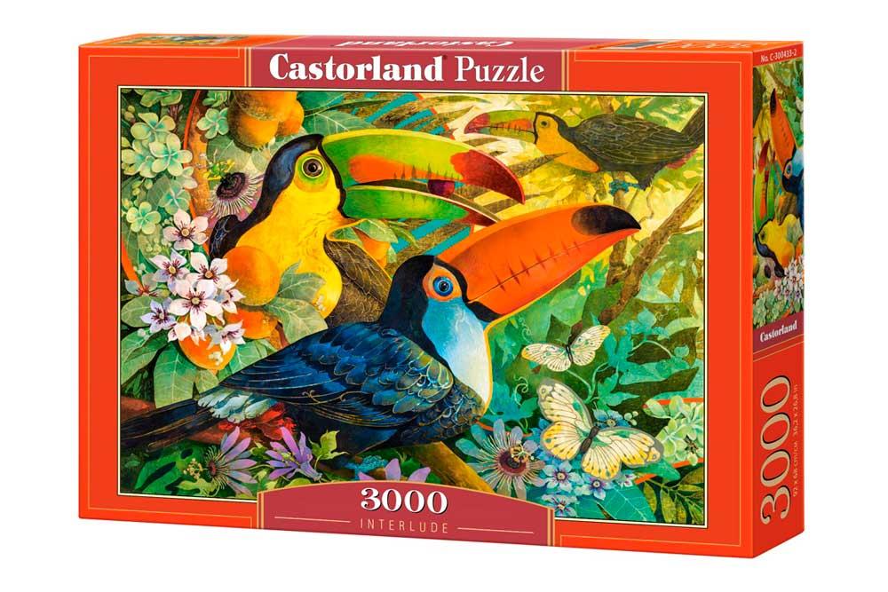 Puzzle Castorland Descanso de Tucanes de 3000 Piezas