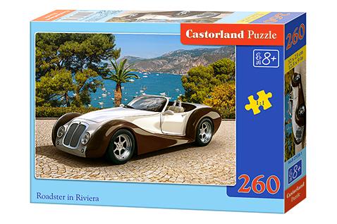 Puzzle Castorland Descapotable en la Riviera de 260 Piezas