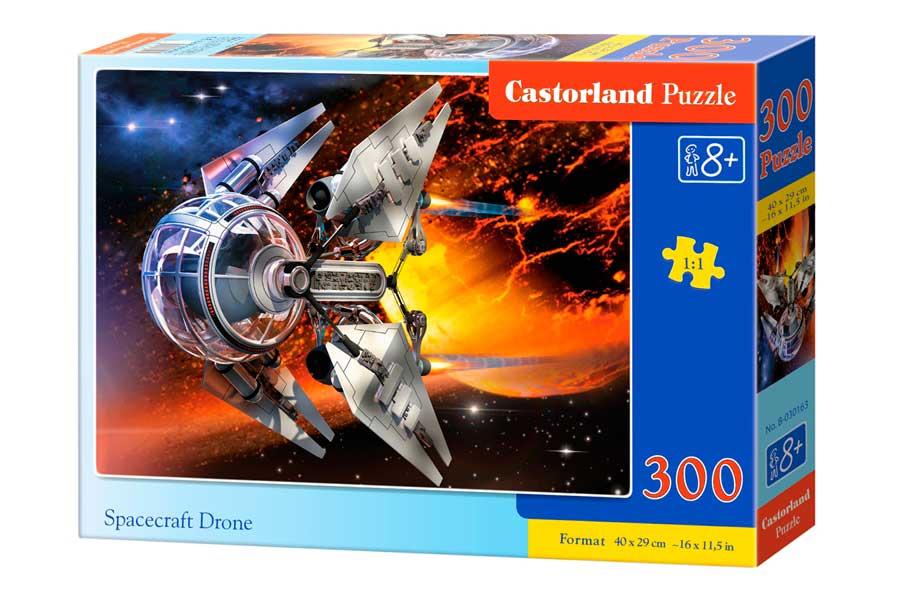 Puzzle Castorland Dron Nave Espacial de 300 Piezas
