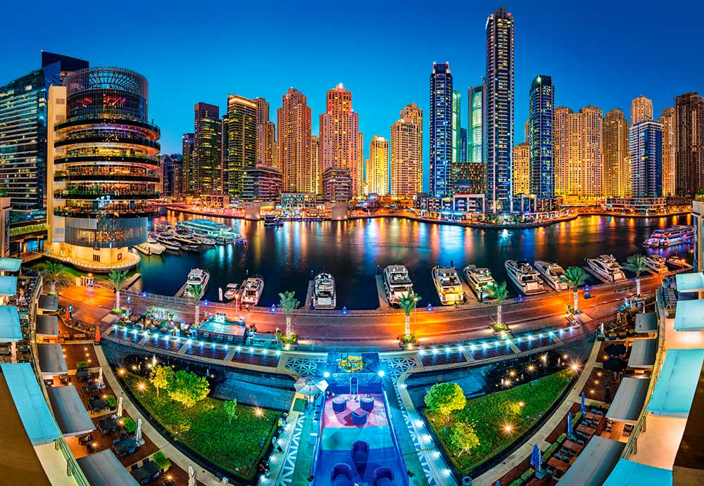 Puzzle Castorland Dubai Marina de 1000 Piezas