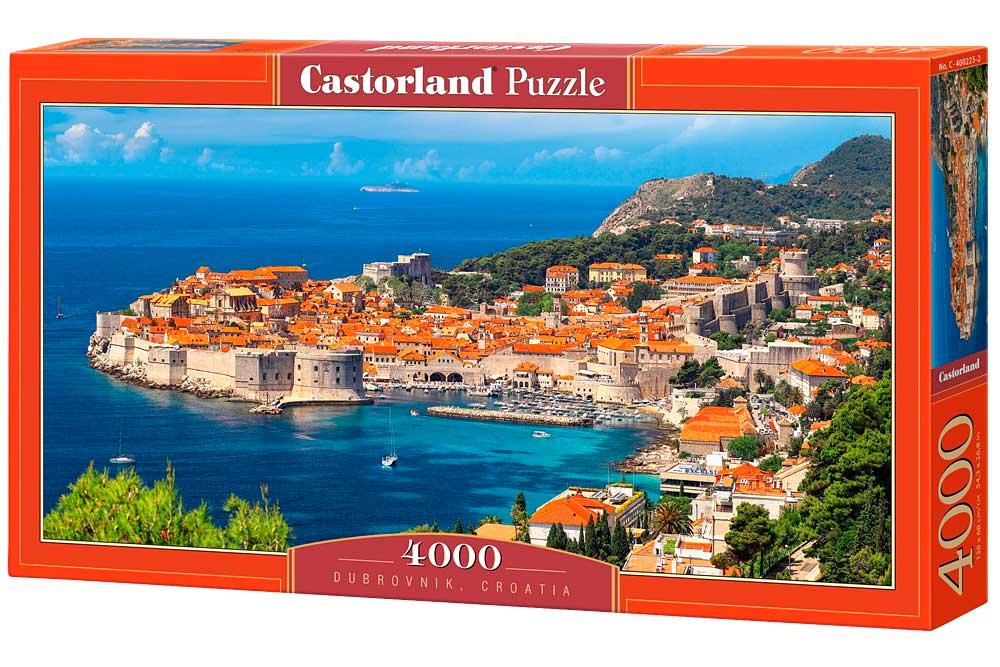Puzzle Castorland Dubrovnik, Croacia de 4000 Piezas