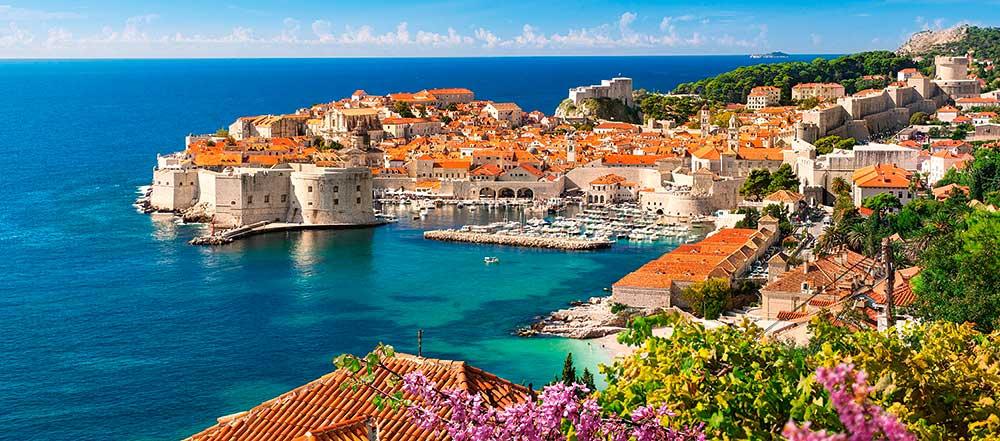 Puzzle Castorland Dubrovnik, Croacia de 600 Piezas