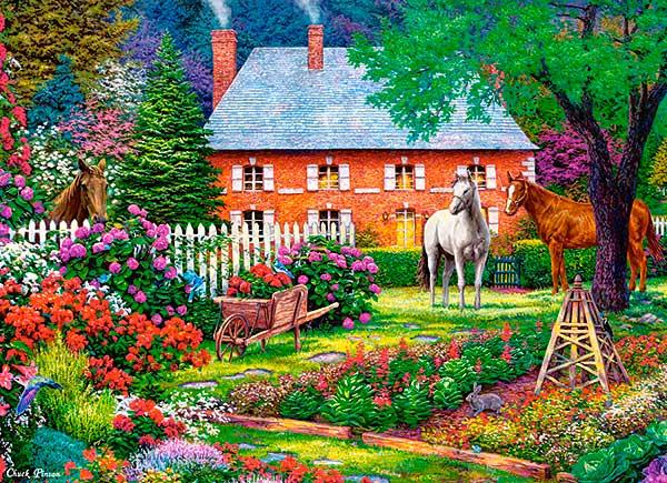 Puzzle Castorland Dulce Jardín de 300 Piezas