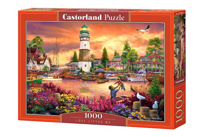 Puzzle Castorland El Amor de mi Vida de 1000 Piezas