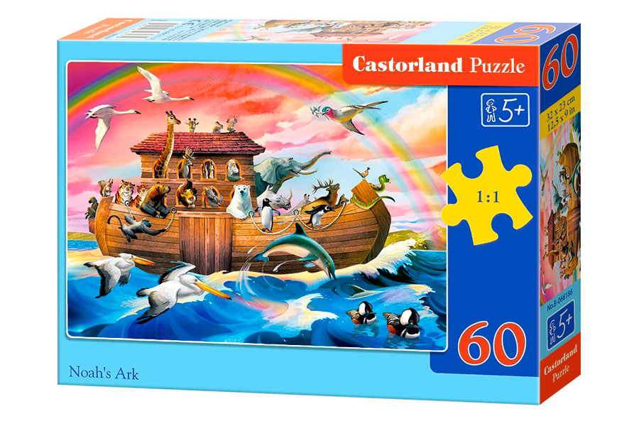 Puzzle Castorland EL Arca de Noé de 60 Piezas