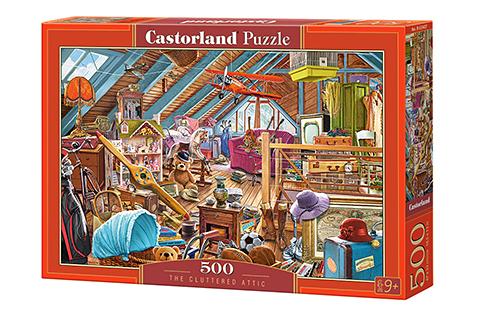 Puzzle Castorland El Ático Desordenado de 500 Piezas