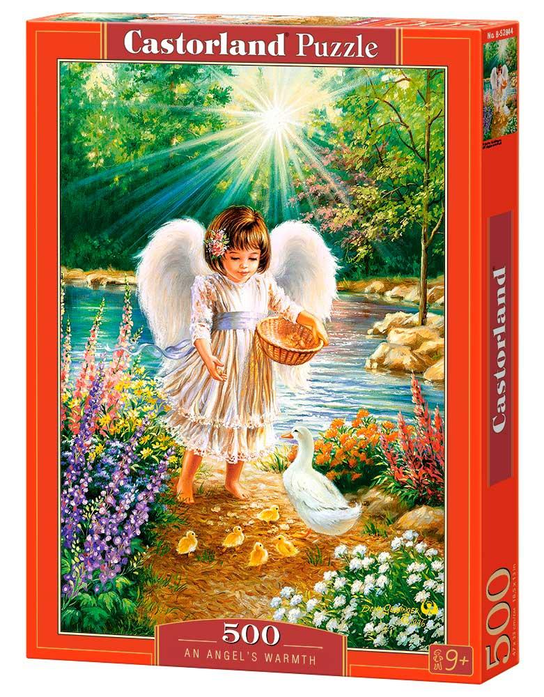 Puzzle Castorland El Calor de un Ángel 500 Piezas