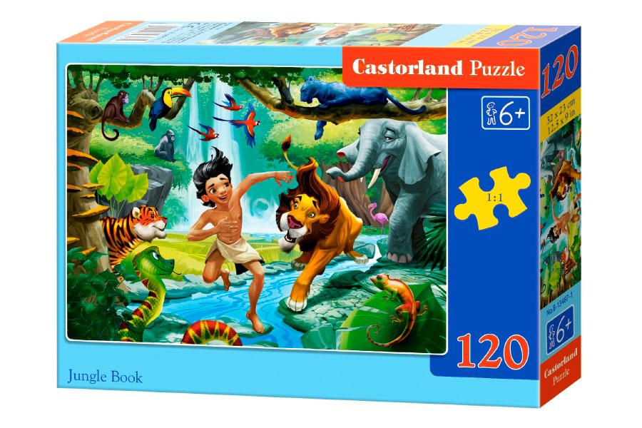 Puzzle Castorland El Libro de la Selva 120 Piezas