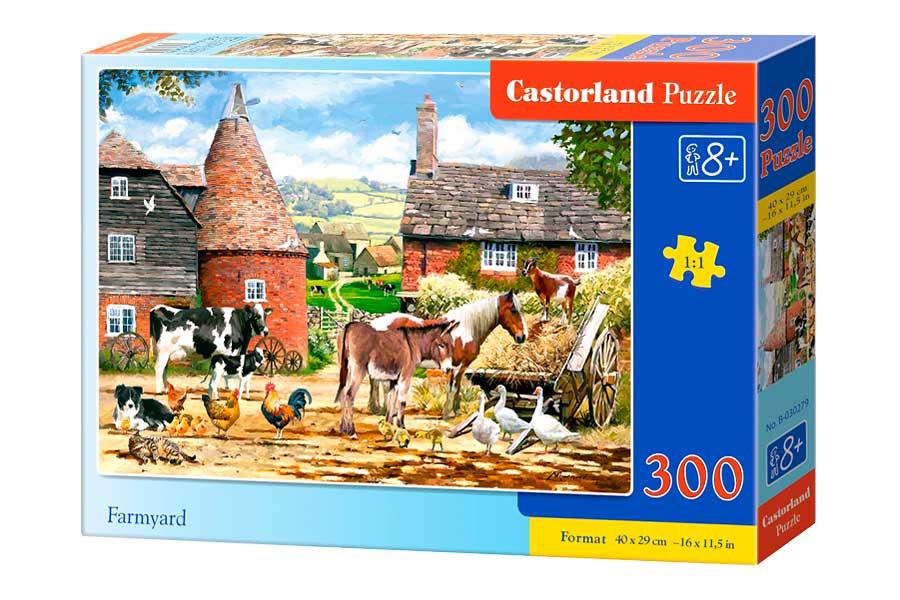 Puzzle Castorland El Patio de la Granja de 300 Piezas