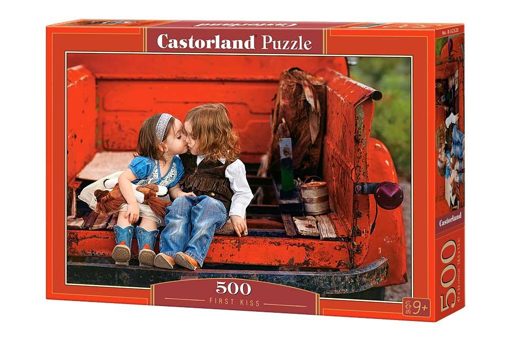 Puzzle Castorland El Primer Beso  de 500 Piezas