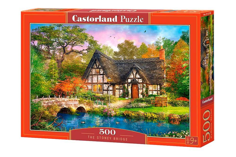 Puzzle Castorland El Puente de Piedra 500 Piezas